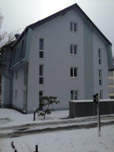 Fassadengestaltung: Anstrich und Putzarbeiten